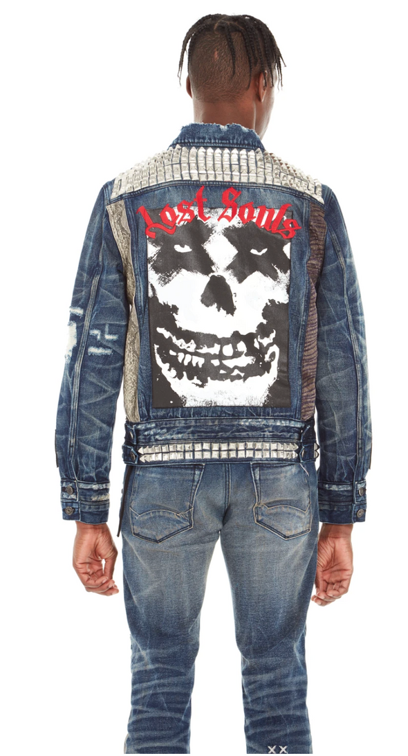 Cult of individuality-type 11 denim jacket-#620A2-TT09F