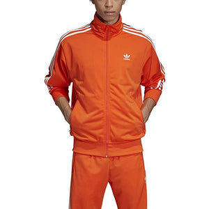 Men's Adidas Firebird Track Jacket (Orange)
