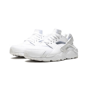 Womens Nike Huarache Run Sneaker In White - Simons Sportswear