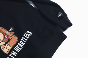 "Mens Sniper Gang ""Heartless"" Crewneck In Black"