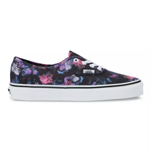 Vans Authentic Skate Shoe In Floral Warped - Simons Sportswear