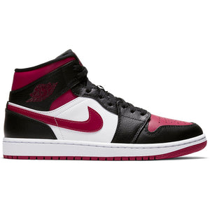 "Men's Air Jordan 1 Mid ""Chicago Toe"" - Simons Sportswear"