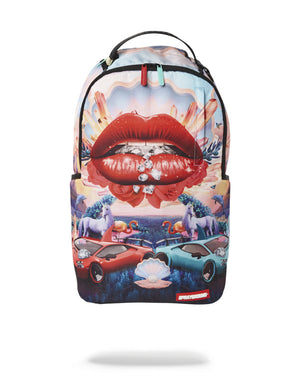 Sprayground® Lips and Famous Backpack - Simons Sportswear