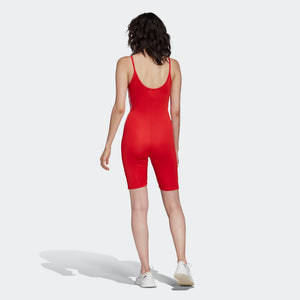 Womens Adidas Originals Cycling Bodysuit (Lush Red) - Simons Sportswear