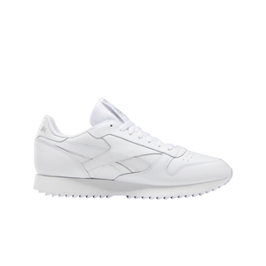Mens Reebok Classic Leather Ripple Sneaker In White - Simons Sportswear