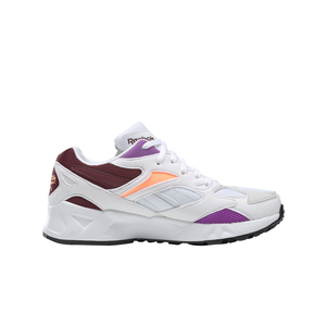 Big Kids Reebok Aztrek 96 Shoes in White / Porcelain - Simons Sportswear