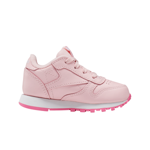 Toddler Kids Reebok Classic Leather Shoe In Polished Pink - Simons Sportswear