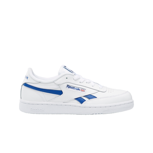 Big Kids Reebok Club C Revenge Sneaker In White / Blue - Simons Sportswear