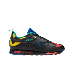 Mens Reebok Classic Leather RC 1.0 In Black / Cobalt - Simons Sportswear