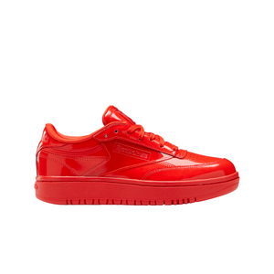 Women's Reebok x Cardi B Club C Double Sneaker in Red