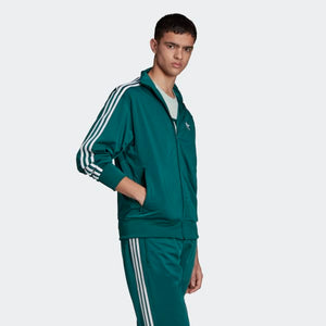 Men's Adidas Firebird Track Jacket (Green)