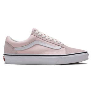 Big Kids Vans Old Skool Skate Shoe (Blushing/True White) - Simons Sportswear