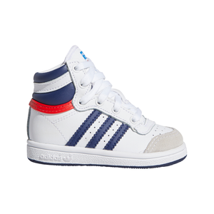 Toddlers Adidas Top 10 Hi Sneaker In White / Red