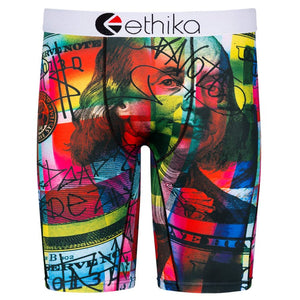 Men's Ethika See Notes Boxer Briefs