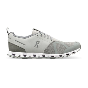 "Womens OnRunning ""Cloud Terry"" Running Shoe (Silver)"