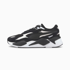Mens Puma RS-X3 Super Sneaker In Black / White - Simons Sportswear