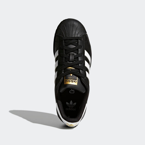 promo code f856a dceb6 Big Kids Adidas Superstar Foundation Shell Toe Classic Sneaker In Black  White