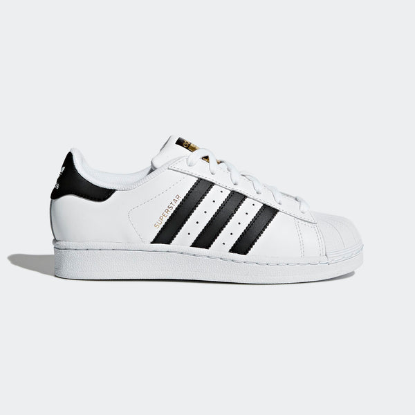 finest selection 4276e 081a9 Big Kids Adidas Superstar Foundation Shell Toe Classic Sneaker In White  Black