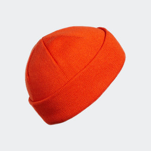 Cap Adidas Originals Joe Beanie Skateboard Skully In Collegiate Orange - Simons Sportswear