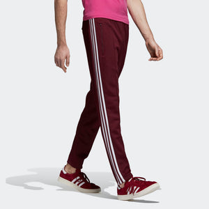 Mens Adidas Bb Beckenbauer Track Pants In Maroon - Simons Sportswear