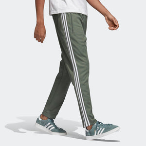 Mens Adidas Bb Beckenbauer Track Pants In Trace Green - Simons Sportswear