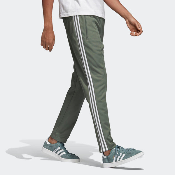 9e10d5f8482 Mens Adidas Bb Beckenbauer Track Pants In Trace Green - Simons ...
