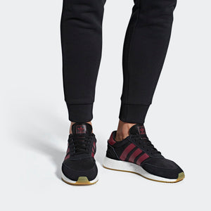 Mens Adidas I-5923 Shoes In Black Burgundy