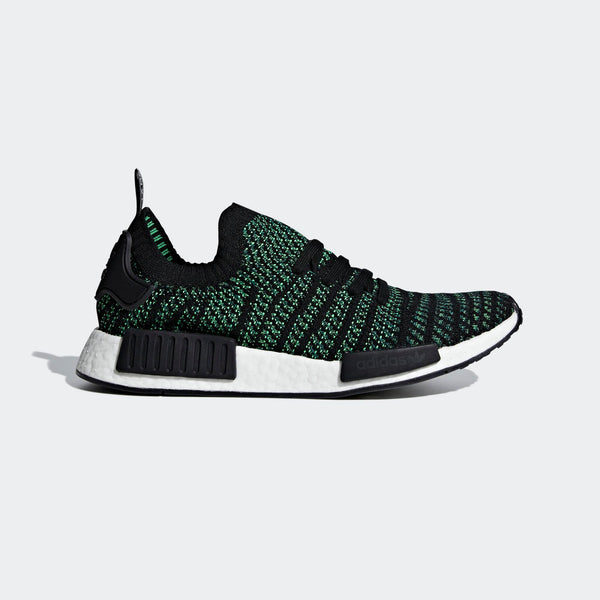 4c5a301f2 Mens Adidas Nmd R1 Stlt Primeknit Shoes Shoes In Black Green ...