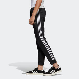 Mens Adidas Original Sst Track Pants In Black