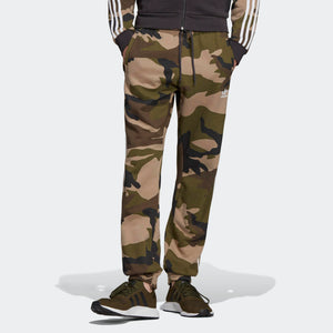 Mens Adidas Originals Camouflage Joggers Sweatpants In Camo Green - Simons Sportswear