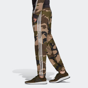 Mens Adidas Originals Camouflage Joggers Sweatpants In Camo Green