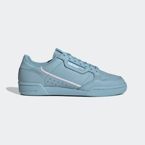 Mens Adidas Originals Continental 80 Sneaker In Ash Grey Silver Metallic Cloud White