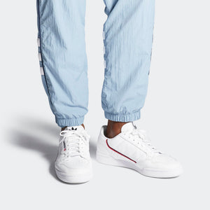 Mens Adidas Originals Continental 80 Shoes In Cloud White - Simons Sportswear