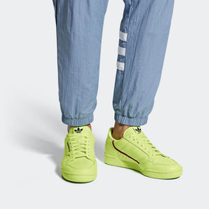 Mens Adidas Originals Continental 80 Shoes In Semi Frozen Yellow