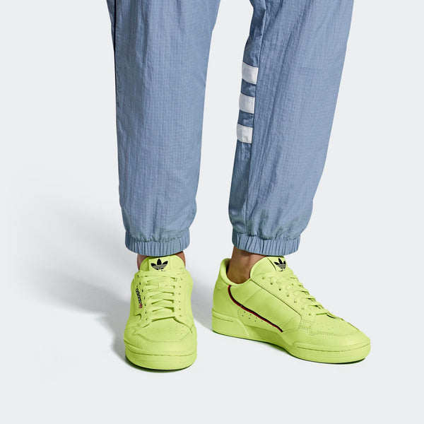 e8b7b816f72 Mens Adidas Originals Continental 80 Shoes In Semi Frozen Yellow - Simons  Sportswear