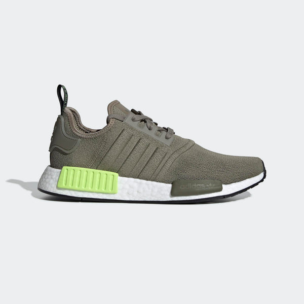 online store 552cc 4d247 Mens Adidas Originals Nmd R1 Runner Shoe In Trace Cargo Solar Yellow