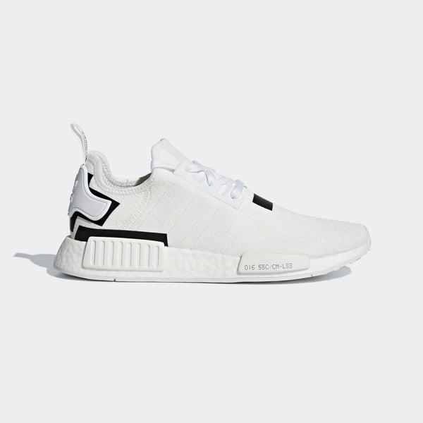 separation shoes 54f26 277aa Mens Adidas Originals Nmd R1 Shoes Running Shoe In Cloud White Core Black