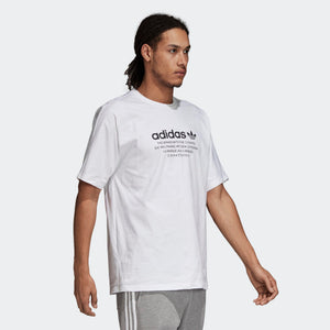Mens Adidas Originals Nmd Tee Shirt In White - Simons Sportswear