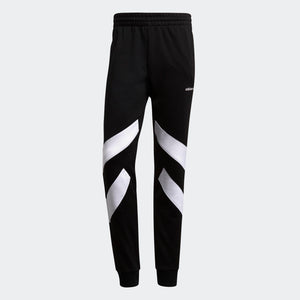 Mens Adidas Originals Palmeston Track Pants In Black White