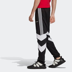 Mens Adidas Originals Palmeston Track Pants In Black White - Simons Sportswear