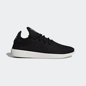Mens Adidas Originals Pharrell Williams Tennis Hu Shoes In Black Chalk - Simons Sportswear