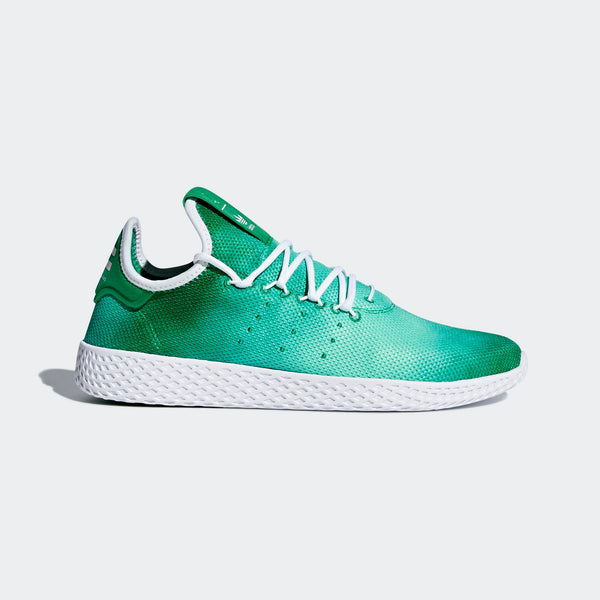 f1de7b103 Mens Adidas Originals Pharrell Williams Tennis Hu Shoe In Green ...