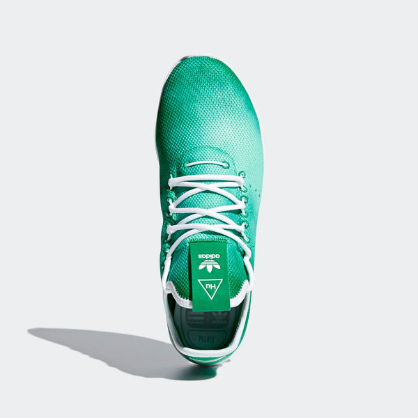60801e4cf Mens Adidas Originals Pharrell Williams Tennis Hu Shoe In Green - Simons  Sportswear
