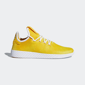 7816c124c1747 Quick View · Mens Adidas Originals Pharrell Williams Tennis Hu Shoe In  Yellow Cloud ...