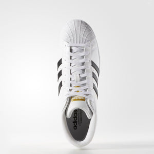 Mens Adidas Originals Pro Model Sneakers In White Black - Simons Sportswear