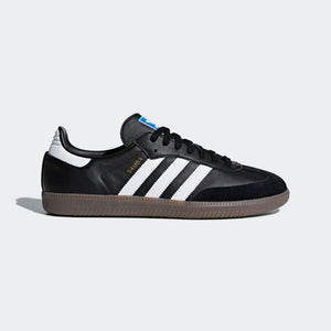 Mens Adidas Originals Samba Og Shoe In Black Gum