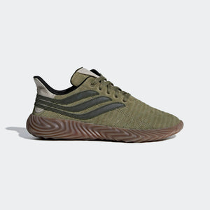 Mens Adidas Originals Sobakov Shoe In Raw Khaki Night Cargo Light Brown