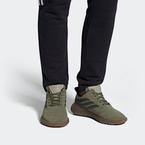 Mens Adidas Originals Sobakov Shoe In Raw Khaki Night Cargo Light Brown - Simons Sportswear