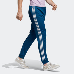 Mens Adidas Originals Sst Track Pants In Legend Marine Blue