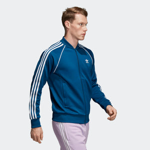 Mens Adidas Originals Sst Track Jacket In Legend Marine